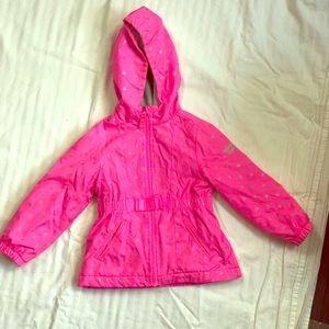 🌈 5/$20OSHKOSH pink hooded jacket